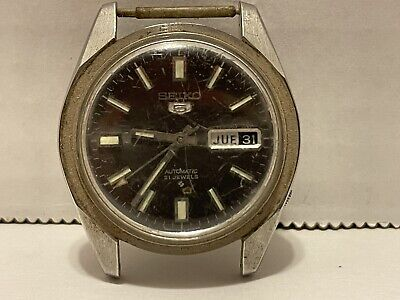 $ CDN40.75 • Buy Vintage Seiko Automatic 21 Jewels 6119-8083 For Parts Or Repair Not Working