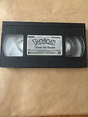 $2 • Buy Pokemon I Choose You Pikachu VHS 1998 PRE-OWNED VHS Only