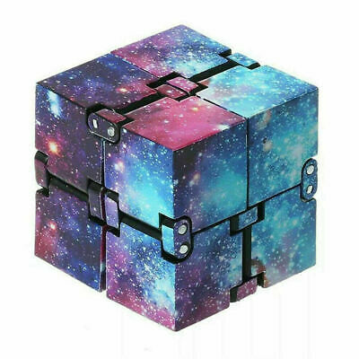 £3.09 • Buy UK Stock Sensory Infinity Cube Fidget Toy For Stress Autism Anxiety Relief Kids