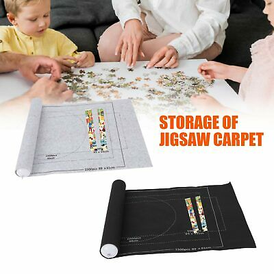 £5.99 • Buy Jigsaw Puzzle Storage Mat 1500 Pieces Puzzles Roll Up Board Storage Felt Mat NEW