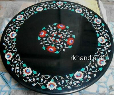 AU2141.56 • Buy 36 Inches Marble Dining Table Top Luxurious Conference Table Top With Inlay Art