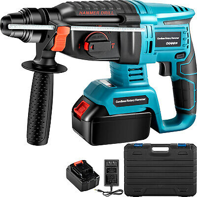 View Details Electric Rotary Hammer Cordless Drill 4 Functions Variable Speed Brushless SDS • 86.99£