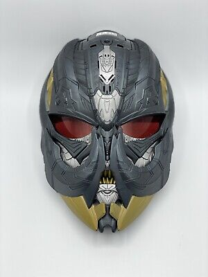 £19.99 • Buy Transformers The Last Knight Megatron Voice Changing Mask With Moveable Tusks