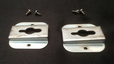 £5.60 • Buy Brother Knitting Machine  Case  Table Clamp Brackets X 2