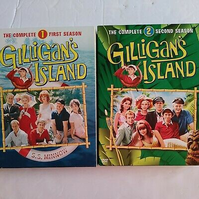 £19.94 • Buy Gilligans Island - The Complete First & Second Season (DVD, 3-Disc Set) B62