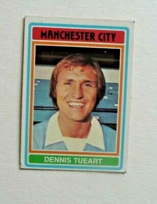 £1.50 • Buy Topps Chewing Gum 70's Football Card  . Dennis Tueart. Manchester City