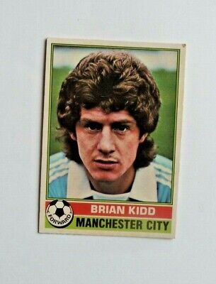 £1.50 • Buy Topps Chewing Gum 70's Football Card  . Brian Kidd . Manchester City