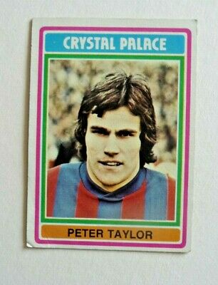 £1.50 • Buy Topps Chewing Gum 70's Football Card  . Peter Taylor .   Crystal Palace