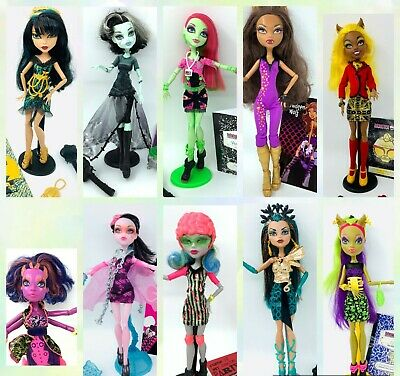 £19.90 • Buy Monster High Doll Large Selection Accessories 1 Wave Rare Select Doll UPDT AUGUS