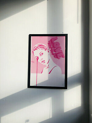 £200 • Buy Signed Pure Evil Kate Moss Framed Screen Print Edition Of 100 Art Car Boot Fair