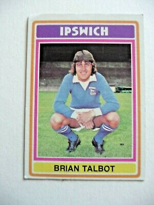 £1.50 • Buy Topps Chewing Gum 70's Football Card  . Brian Talbot .   Ipswich Town