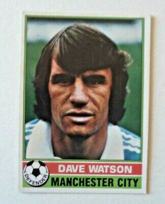 £1.50 • Buy Topps Chewing Gum 70's Football Card  . Dave Watson .  Manchester City