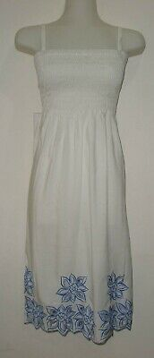 AU6 • Buy 1D82 WHITE  LADIES SHIRRED STRAPLESS DRESS Plus Size 16 , 18 , 20 NEW TAGS