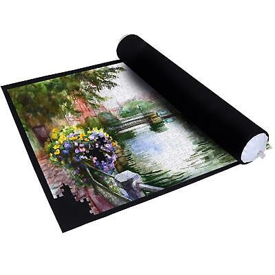 £7.99 • Buy Giant Puzzle Roll-up Mat Jigsaw Jumbo 1500 Pieces Fun Game Easy Storage UK