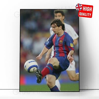 £2.99 • Buy Lionel Messi Poster FC Barcelona First Goal Football Photo Wall Art Poster Print