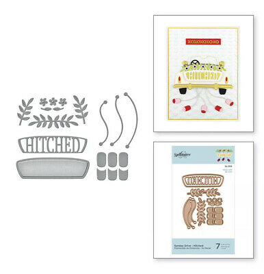 AU19.95 • Buy Spellbinders ~ Sunday Drive - Hitched ~ 7 Dies ~ S2-306 Sizzix Compatible ~