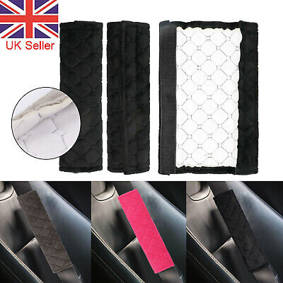 £2.70 • Buy 2/4X Car Seat Belt Cover Pads Car Safety Cushion Covers Strap Pad For Adults Kid