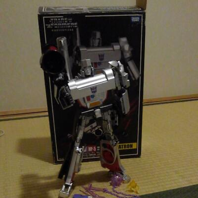 £138.93 • Buy Megatron First MP5 Decepticons Transformers Masterpiece Robot Toy Machine Silver