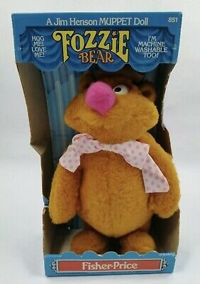£29.99 • Buy REDUCED Fisher Price Fozzie Bear Jim Henson MUPPET SHOW MUPPETS Boxed Mint New