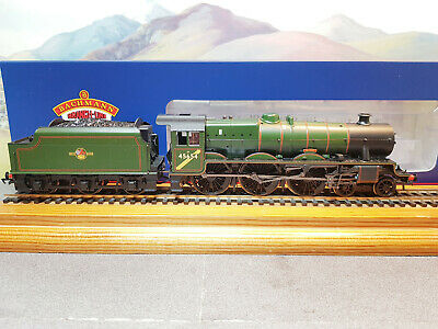 £175 • Buy 31-186A Bachmann LMS Jubilee Class No.45654 HOOD BR Lined Green Late Crest