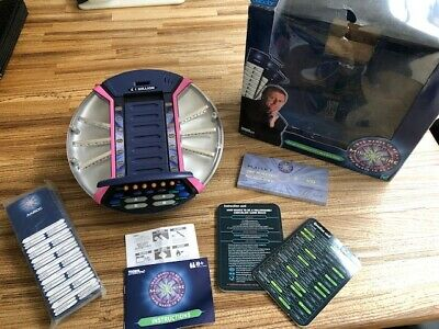 £24 • Buy Vintage Who Wants To Be A Millionaire Electronic Game