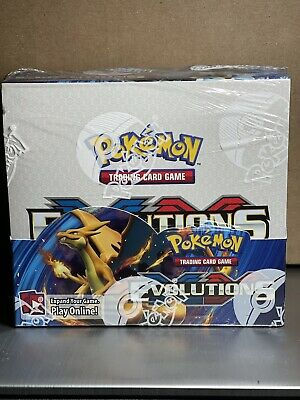 $849.99 • Buy Pokemon XY Evolutions Booster Box TCG 36 Pack From Sealed Case Genuine Authentic