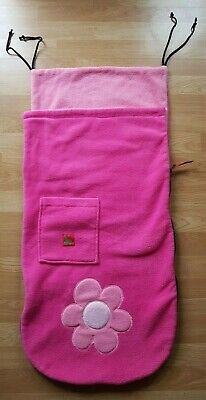 £9.99 • Buy Buggy Snuggle Pink With Large Flower Footmuff Cosytoes - Universal Fit
