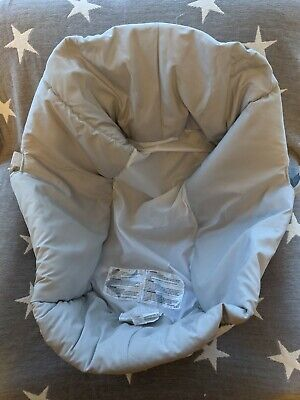 £11.99 • Buy Mamas And Papas Sola Urbo Zoom Carrycot Inner Fabric Bumper Light Grey