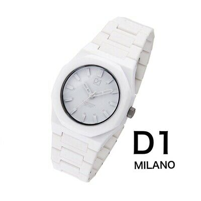 £49 • Buy D1 MILANO UNISEX 36mm WHITE POLYCARBONATE WATCH RRP £160