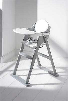 £55 • Buy East Coast Nursery White And Grey  Folding Highchair (Factory Seconds)