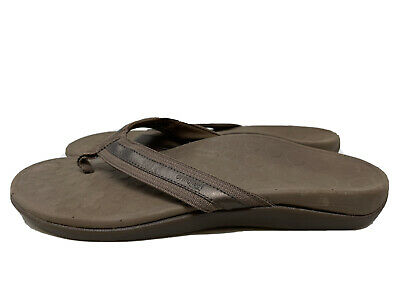 £13.79 • Buy Orthaheel TIDE Brown Thong Sandals Women's Size 10