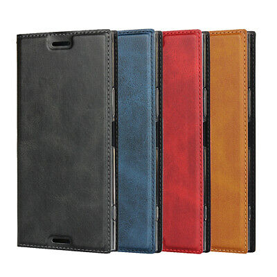 AU10.67 • Buy For Sony Xperia XZ Premium Magnetic Leather Phone Case Protector Flip Wallet