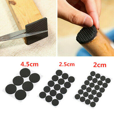 £2.98 • Buy Round Sofa Table FURNITURE Foot PADS Thick Sticky Floor Non-slip Chair Leg Pad