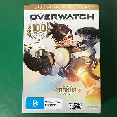 AU19.90 • Buy PC Game OVERWATCH Game Of The Year Edition Complete With Bonus Content