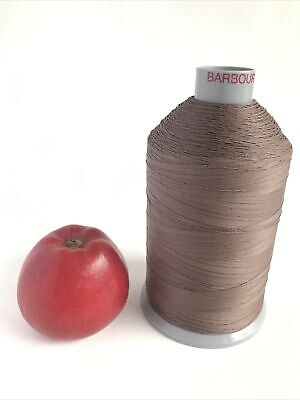 £9.50 • Buy BARBOUR COATS Terko Satin Strong Sewing Thread Cotton Polyester 4000m M50 Brown