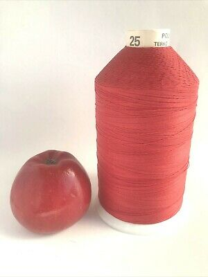 £9.50 • Buy Vintage Barbours Campbell Terko Satin Sewing Thread Extra Strong Red No 25 2500m
