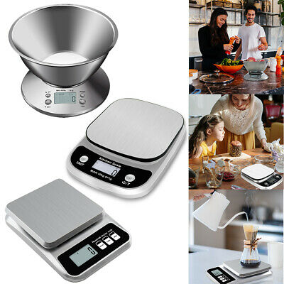 £16.33 • Buy Digital LCD 5-10kg Kitchen Electronic Balance Scale Food Weight Postal Scales