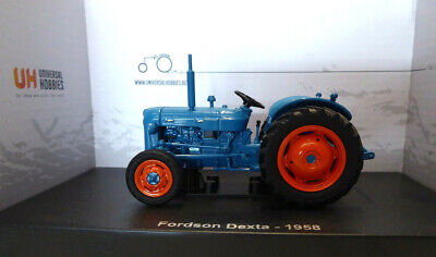 £44 • Buy Model Tractor FORDSON Dexta 1958 1/32nd Scale By Universal Hobbies BACK IN STOCK