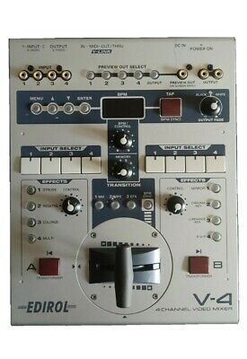 £335 • Buy Roland Edirol V4 (4-channel Video Mixer With Effects)