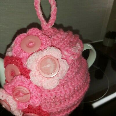 £10 • Buy Tea Cozy Hand Crocheted Knitted