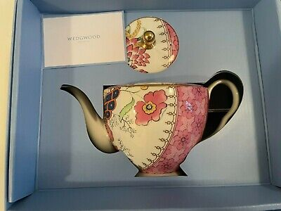 £72.59 • Buy WEDGWOOD Butterfly Bloom 2 CUP (mini) TEAPOT NEW