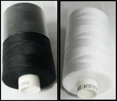 £1.69 • Buy Coats Moon Spun Polyester Machine And Hand Sewing Thread 1000 Yard Reels