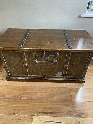 £65 • Buy Wooden Trunk Chest Coffee Table