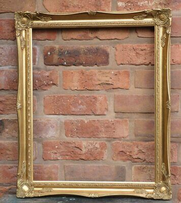 £27.99 • Buy Vintage French Rococo Wooden Gold Picture Frame