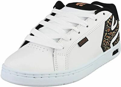 £54.99 • Buy Etnies Fader White Leopard Print Womens Leather Skate Trainers