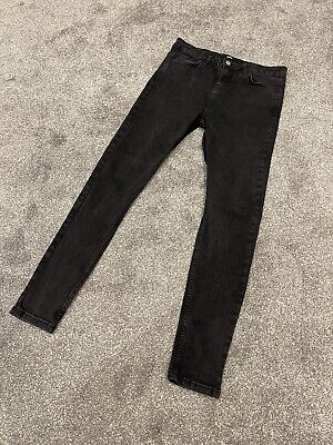 £7.50 • Buy Washed Black Mens Hera Jeans - Size 30R - Deadstock No Longer Made