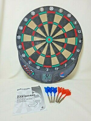 £29 • Buy Gamelife By Sportcraft Electronic Dart Board Game W/ Cricket - 15 Games & Clock