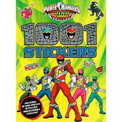 £4.99 • Buy Power Rangers Dino Charge 1001 Stickers Activity Book  -   9781782967675