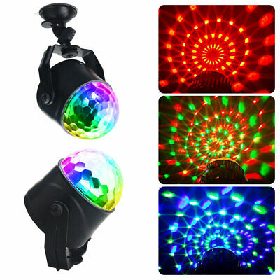 £15.99 • Buy USB Remote Control LED Stage Light Magic Crystal Ball RGB Rotating Disco Party