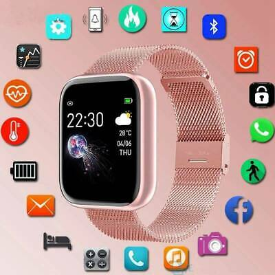 View Details Smart Watch Fitness Tracker Fit-bit Heart Rate Blood Pressure Monitor Pedometer • 23.99£